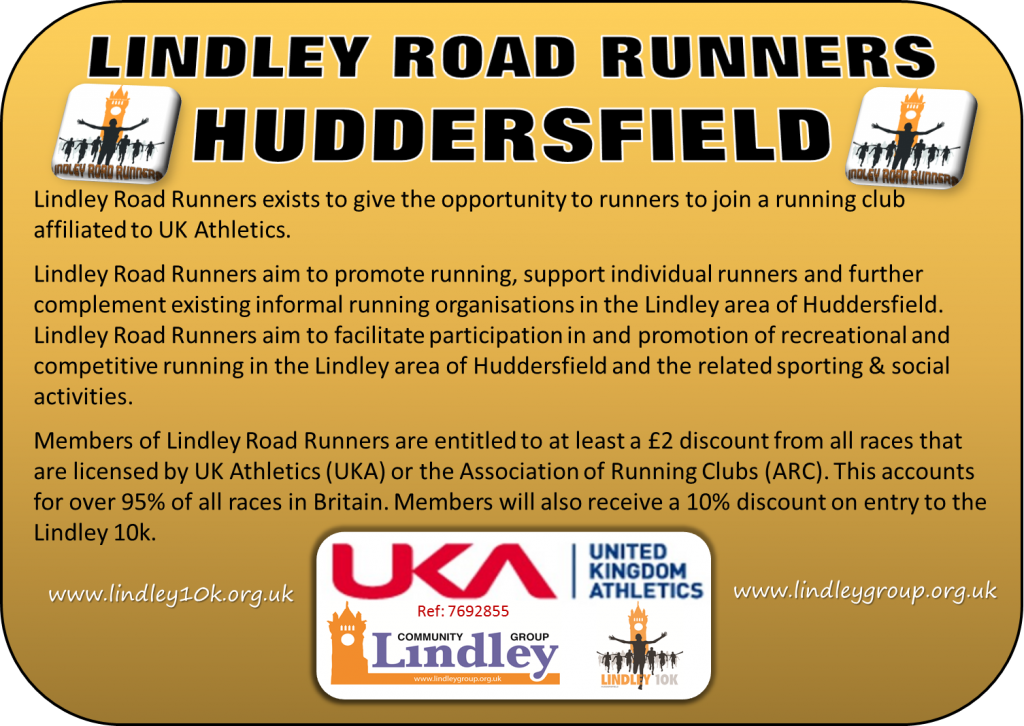 Join Lindley Road Runners!